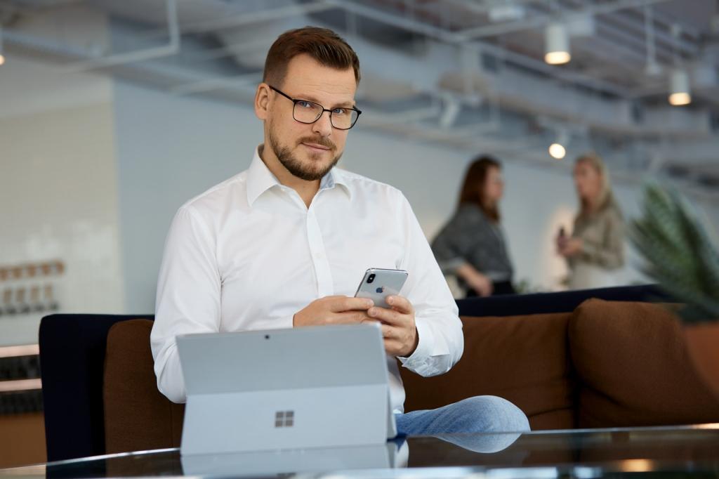 Zdjęcie biznesowe w biurze