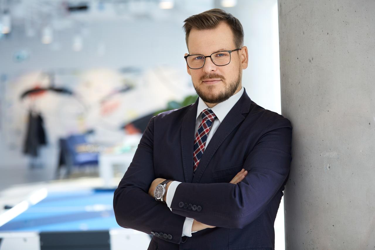 Portret Biznesu Warszawa - Mężczyzna